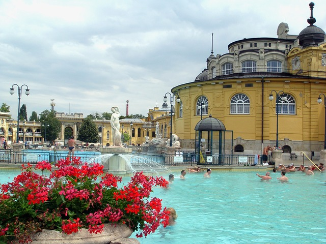 Budapešť lázně