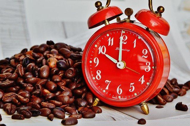 přestávka na kávu