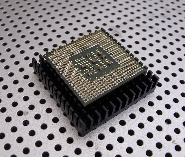 micro-chip do počítače