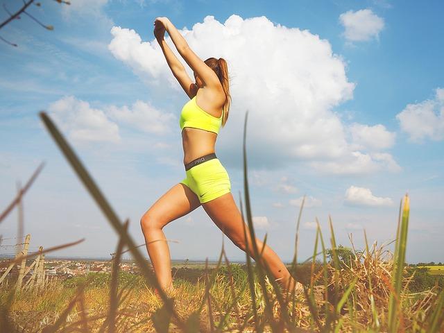 cvičení na čerstvém vzduchu