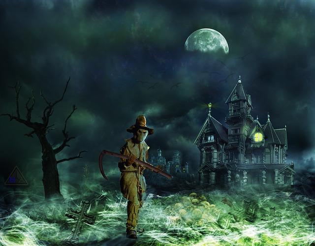 smrťák u hradu