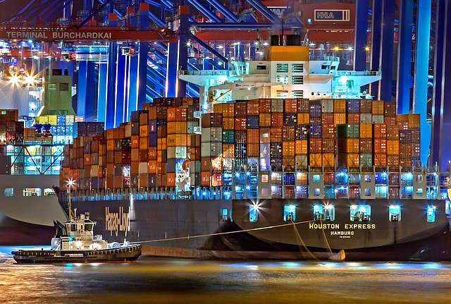 přístav v Hamburku