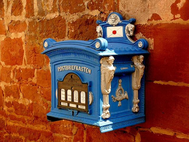 modrá schránka