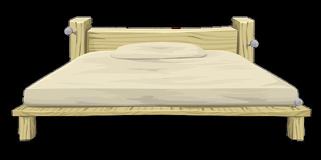borovice postel
