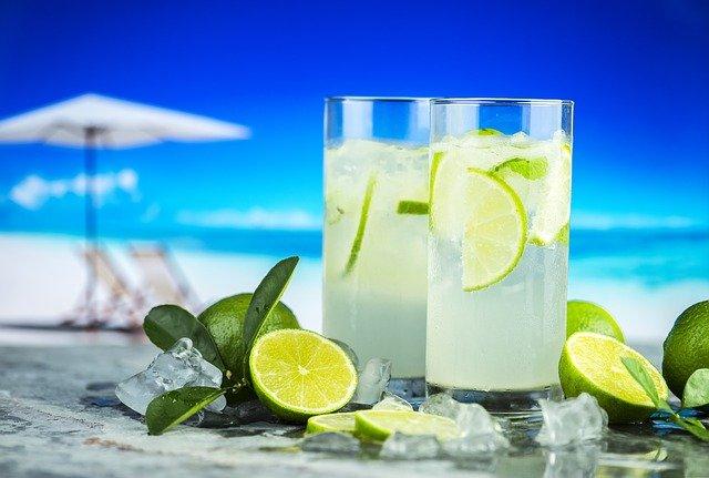 limonáda s citrusy