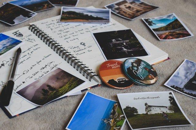 fotografie a obrázky na památku