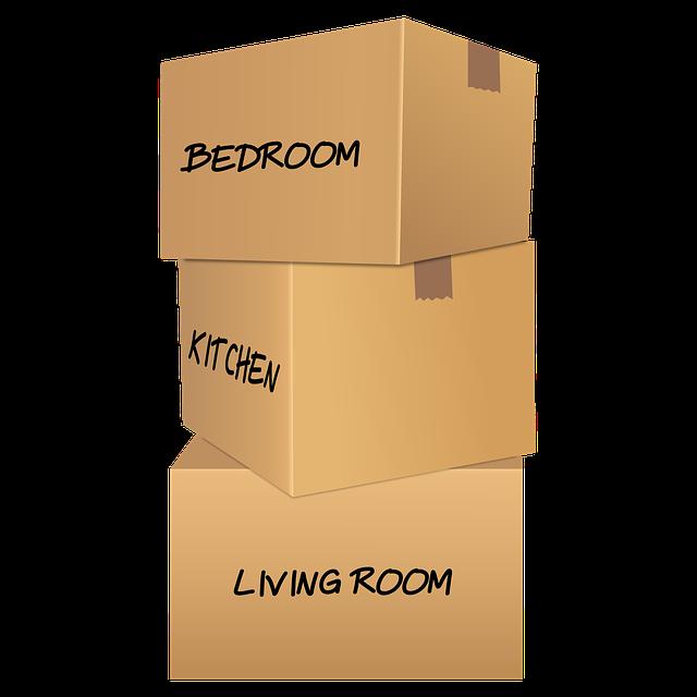 Krabice s věcmi