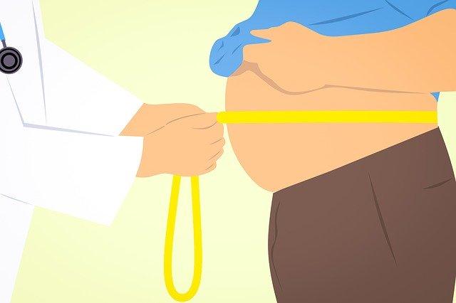 měření kolem břicha